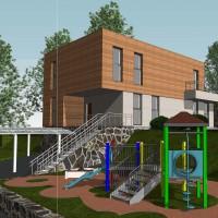 Проектирование частных домов, коттеджей, таунхаусов любой сложности