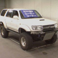 Toyota Surf KDN185 на запчасти