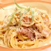 Спагетти карбнара